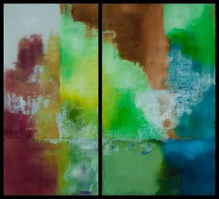 "Untitled 56"" x 60"" (Diptych) SOLD"