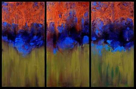 Brush Fire (triptych)
